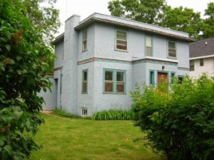 Bob Dylan's childhood home in Hibbing, Minnesota.