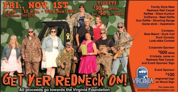 virginia found redneck