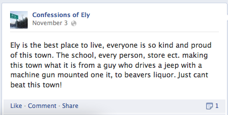 Confessions of Ely