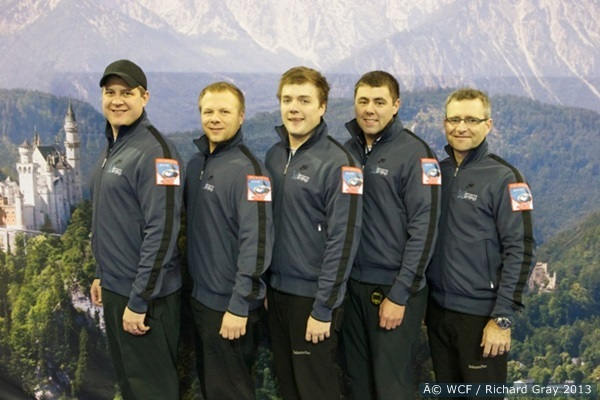 The 2014 U.S. Olympic Curling team