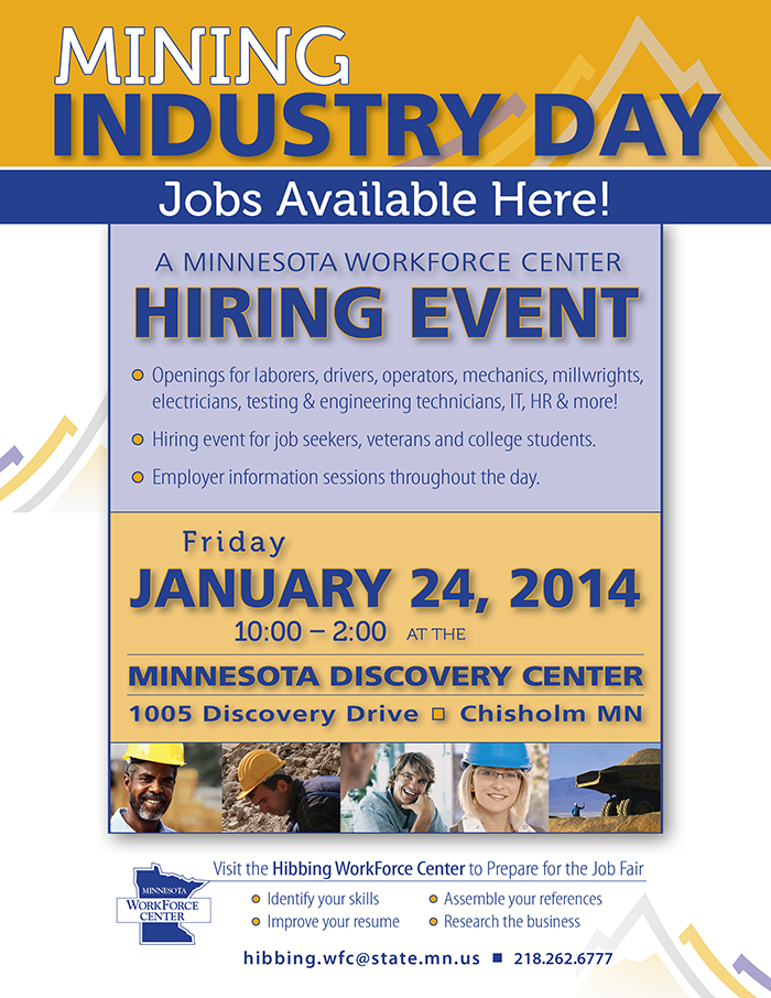 Iron Range mining hiring event