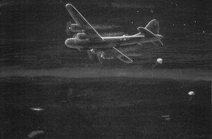 B-29 over Itasca County