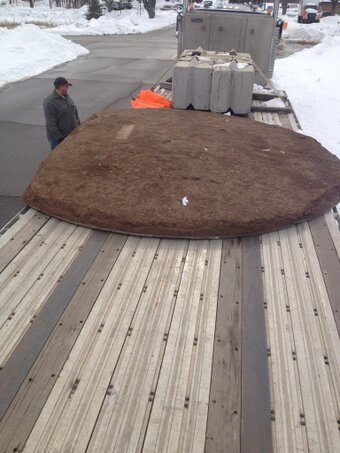 Metrodome pitcher's mound