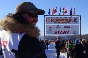 Chisholm musher Nathan Schroeder finished his first attempt at the legendary Iditarod Sled Dog race, reaching Nome today in 17th place, first among all rookie mushers. PHOTO: Schroeder's fundraising page