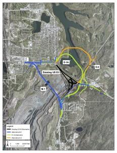Iron Range officials fear dangers of Hwy 53 reroute