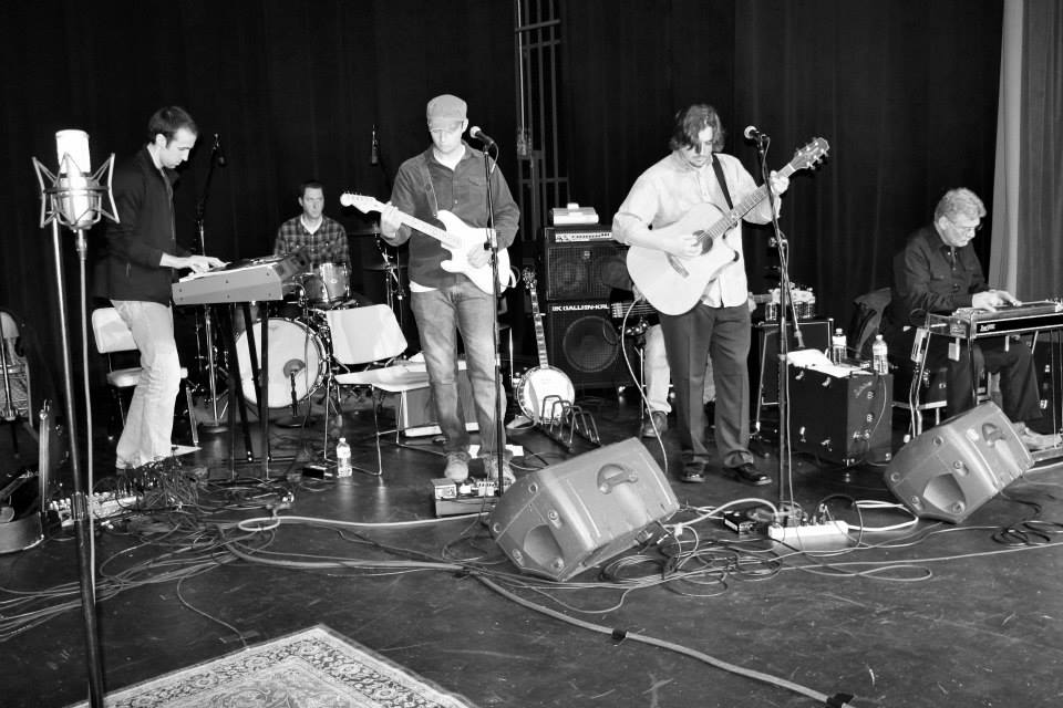 The Slamming Doors perform during the Great Northern Radio Show on March 22, 2014 at the Mesabi Range College theater in Virginia, Minnesota. PHOTO: Shelly Hanson