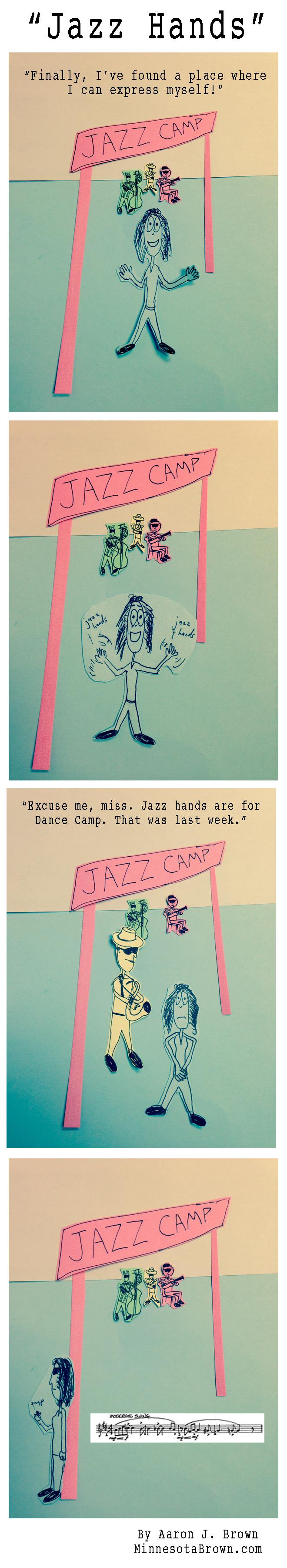 """""""Jazz Hands"""""""