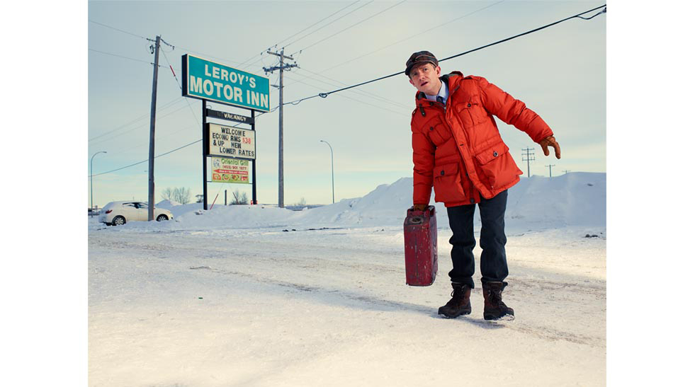 "Martin Freeman as Lester Nygard in ""Fargo"""