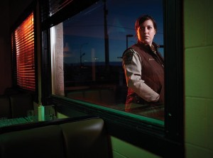 """Molly Solverson (Allison Tollman) is hot on the trail of the truth in the unfolding capers of """"Fargo"""" on FX."""