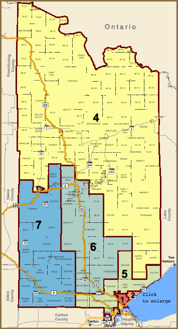 St. Louis County district maps