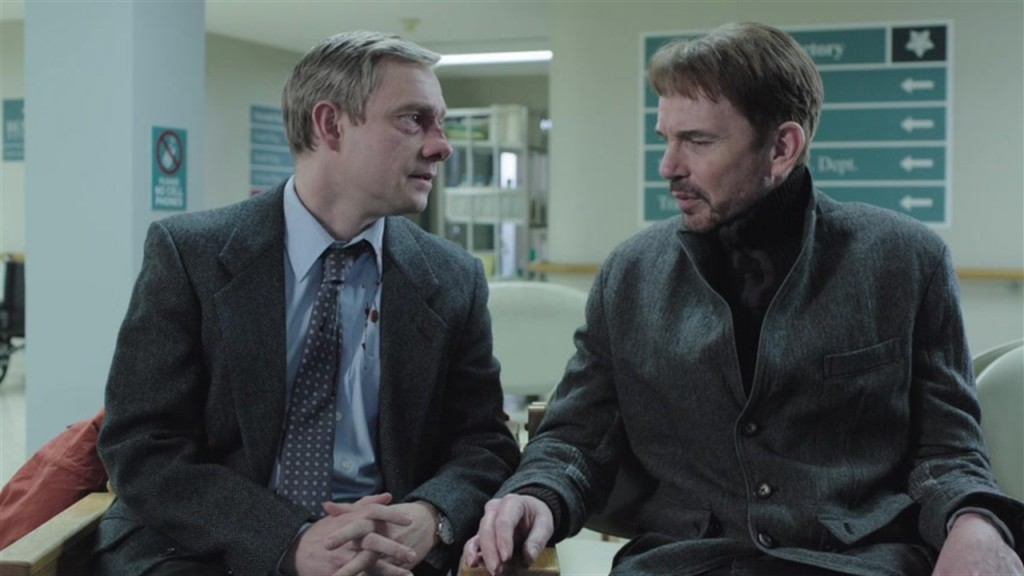 """The chance meeting between Lester (Martin Freeman) and Malvo (Billy Bob Thornton) during the first episode unloads a chain reaction of evil, fear and courage through the 10-episode run of """"Fargo"""" on FX."""