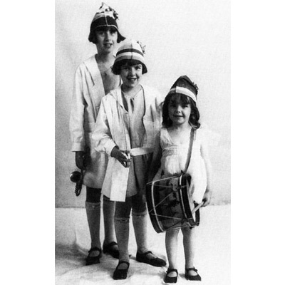 """The Gumm Sisters were an act in their parents' Grand Rapids, MN-based Vaudeville show. The youngest, Frances, would go on to become Judy Garland, star of the """"Wizard of Oz."""" PHOTO courtesy Judy Garland Museum."""