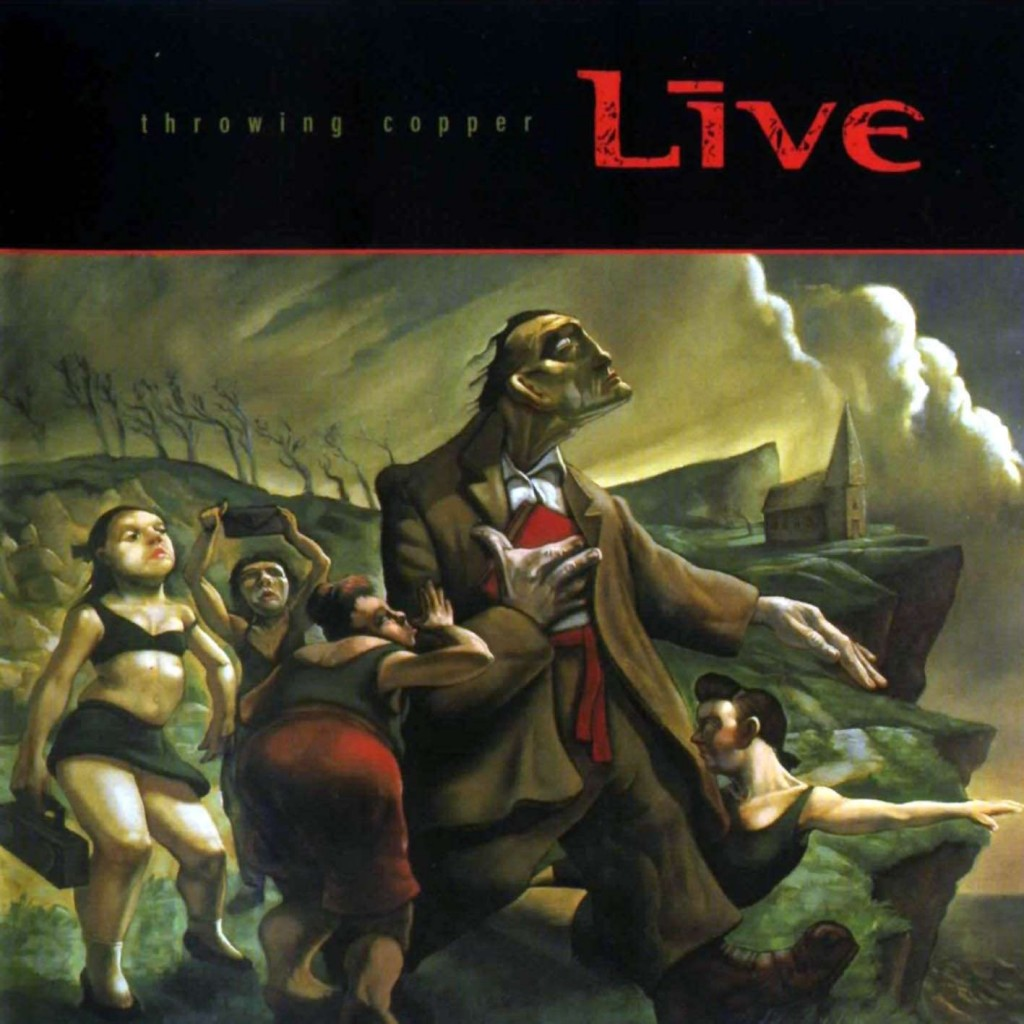 """The 1994 Live album """"Throwing Copper"""" was a mainstay of most American teens in the 1990s. Live will perform at Merritt Days in Mt. Iron, MN on Aug. 9, 2014."""