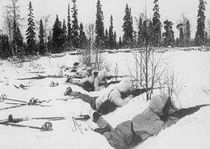 In 1939, as WWII was brewing in central Europe, Finland repelled Russian invasion and preserved its independence in one of modern history's greatest military upsets. It was called the Winter War, and Finns secured the advantage using versatile ski troopers on snowy, cold terrain.