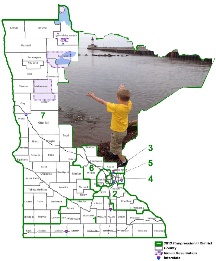 MN-08, a district that hasn't finished changing. (PHOTO: Aaron J. Brown)