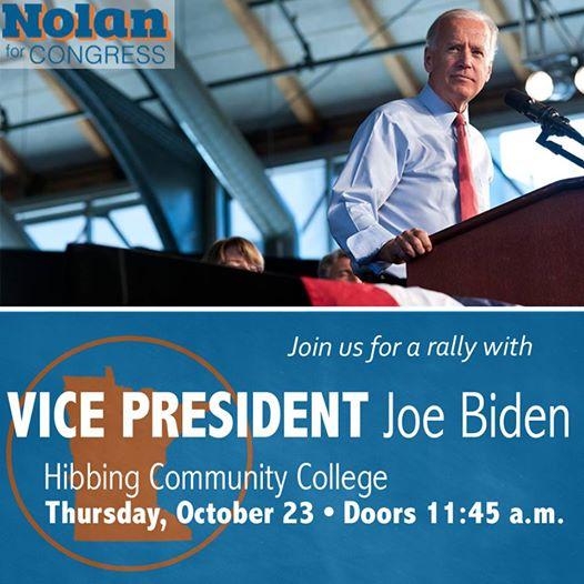 Biden rally in Hibbing