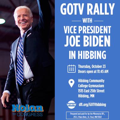 Biden/Nolan Rally