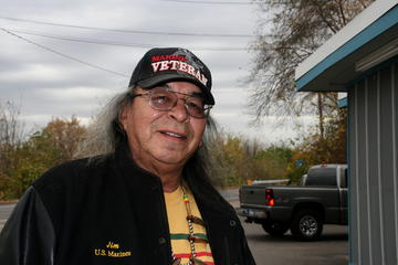 Ojibwa humor writer, poet and Vietnam vet Jim Northrup will be the featured performer in the Dec. 6, 2014 Great Northern Radio Show in Walker, MN.