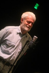 """""""Iron"""" Mike Hillman told stories on the June 2014 Great Northern Radio Show, which broadcast live from Vermilion Community College in Ely. Hillman died Dec. 11, 2014 in his sleep of an apparent heart attack, silencing one of Ely's most colorful and heartfelt storytellers."""