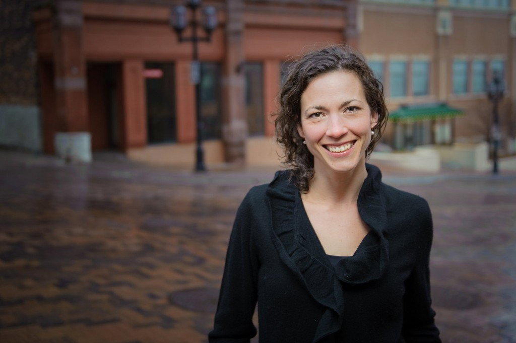 City Councilor Emily Larson is running for Mayor of Duluth in 2015.