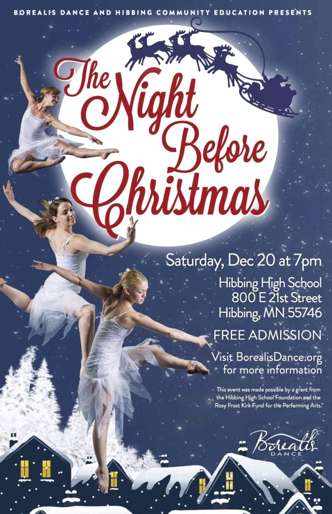 Night Before Christmas by Borealis Dance