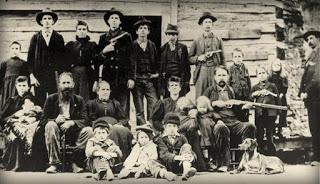 The Hatfield clan circa 1897