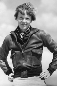 Famed 1930s pilot Amelia Earhart, lost mysteriously during a flight around the world in 1937, spoke to citizens on Minnesota's Iron Range on Oct. 4, 1935.