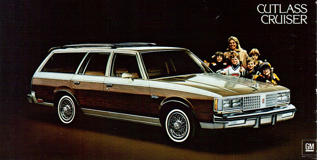 The original advertisement for the station wagon my family would eventually inherent from my Swedish-American great-grandmother. For a number of years, it was the only vehicle I knew.