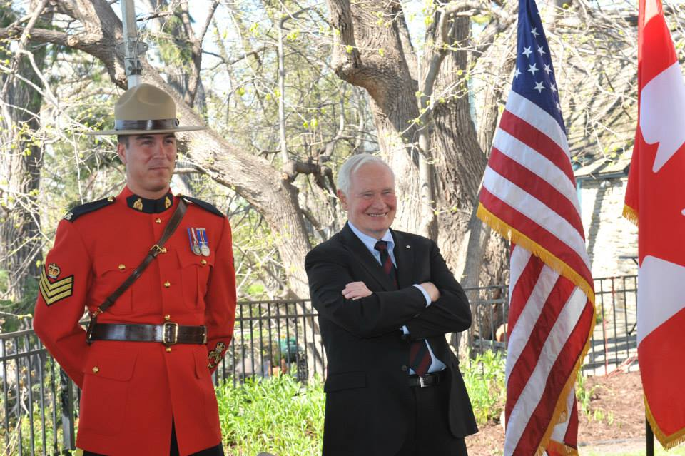 His Excellency, the Right Honourable David Johnston, Governor General of Canada, recently completed a four-day tour of Great Lakes states, including here in Minnesota, touting the economic power of the relationship between Canada and the United States.