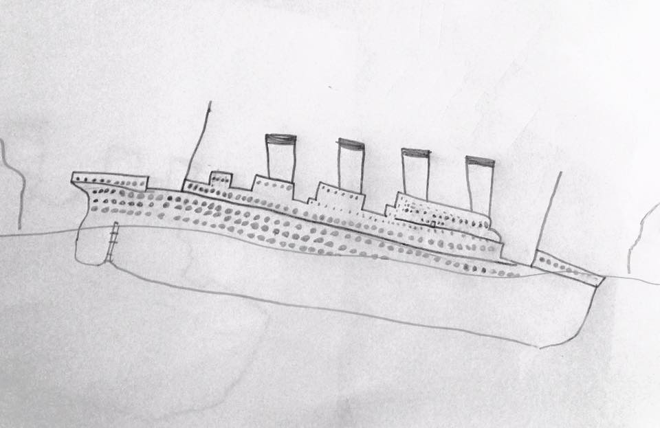 """The Sinking of the Titanic"" by Douglas Brown, 2015"