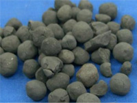Direct-reduced iron pellets