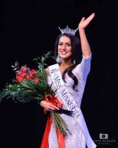 North Woods High School art teacher Rachel Latuff was crowned Miss Minnesota on Saturday, June 20 and will now compete for the national Miss USA crown. (PHOTO: Sarah Morreim)
