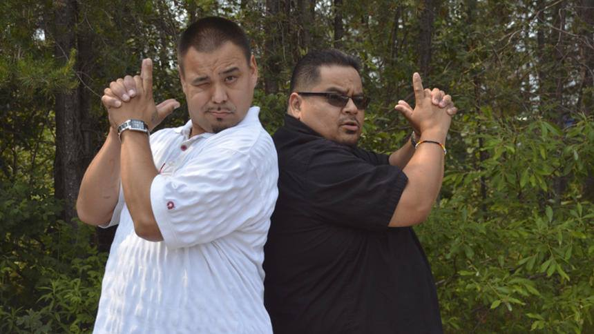 Rob Fairbanks and Jon Roberts are Ojibwa comedians who seek to make a movie and take a chance at the big time this fall.