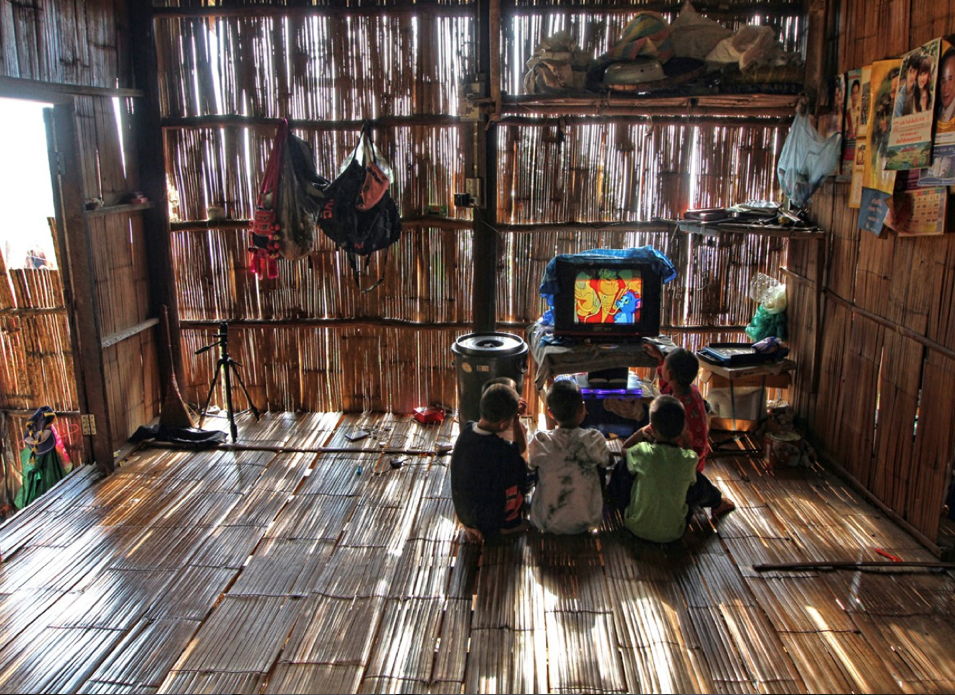 This scene shows the rapid change happening in the indigenous villages of northern Thailand as observed by Hibbing native and international journalist Jeff Warner. (PHOTO: Jeff Warner)