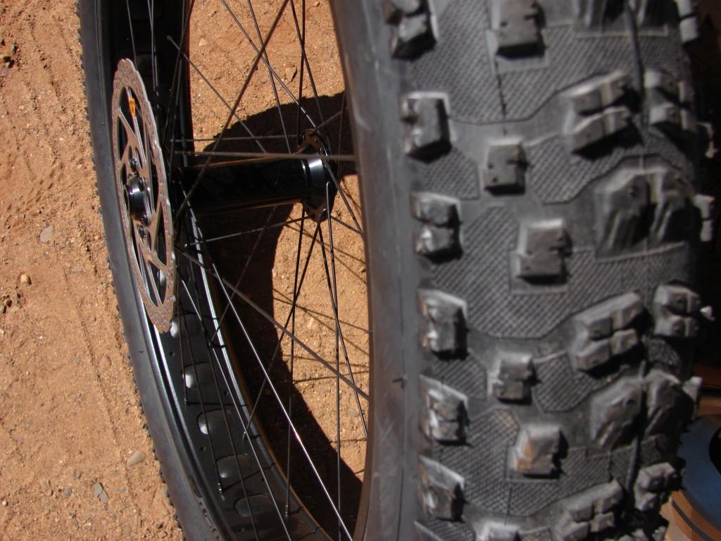 Cuyuna Tire Before