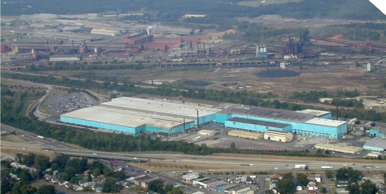 U.S. Steel's Fairfield Works operation in Alabama will close under the company's new cost-cutting plan. (PHOTO: U.S. Steel)