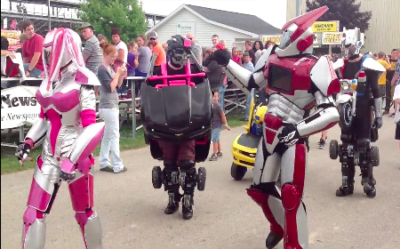 The St. Louis County Fair will be held Aug. 12-16 in Chisholm, Minnesota. These are the transforming robots that you''ll find wandering around this year.