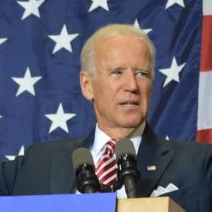 Vice President Joe Biden speaks at Hibbing Community College on Oct. 23, 2014. (Aaron J. Brown)