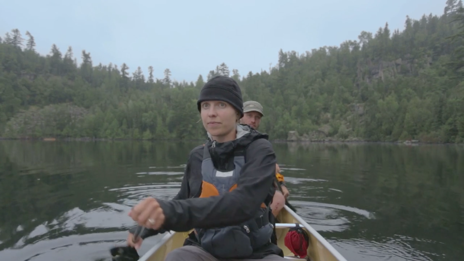 Amy and Dave Freeman embark on a year-long expedition through the Boundary Waters Canoe Area Wilderness in northeastern Minnesota on Sept. 23, 2015. They will camp and travel the park, being resupplied along the way by friends and fellow campers. Their goal is to highlight the value of the BWCAW amid what they see as the dangers of proposed mining projects near these federally-protected lands. (PHOTO: screen shot from promotional video)