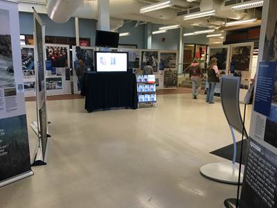 """""""Why Treaties Matter"""" is a traveling exhibit exploring the history and hardship behind the treaties between the U.S. government and sovereign native people, which in Minnesota include the Ojibwa and Dakota peoples. The exhibit will have its grand opening at Hibbing Community College on Thursday, Oct. 8, 2015 and remain in the lobby of the HCC Commons through Tuesday, Oct. 20."""