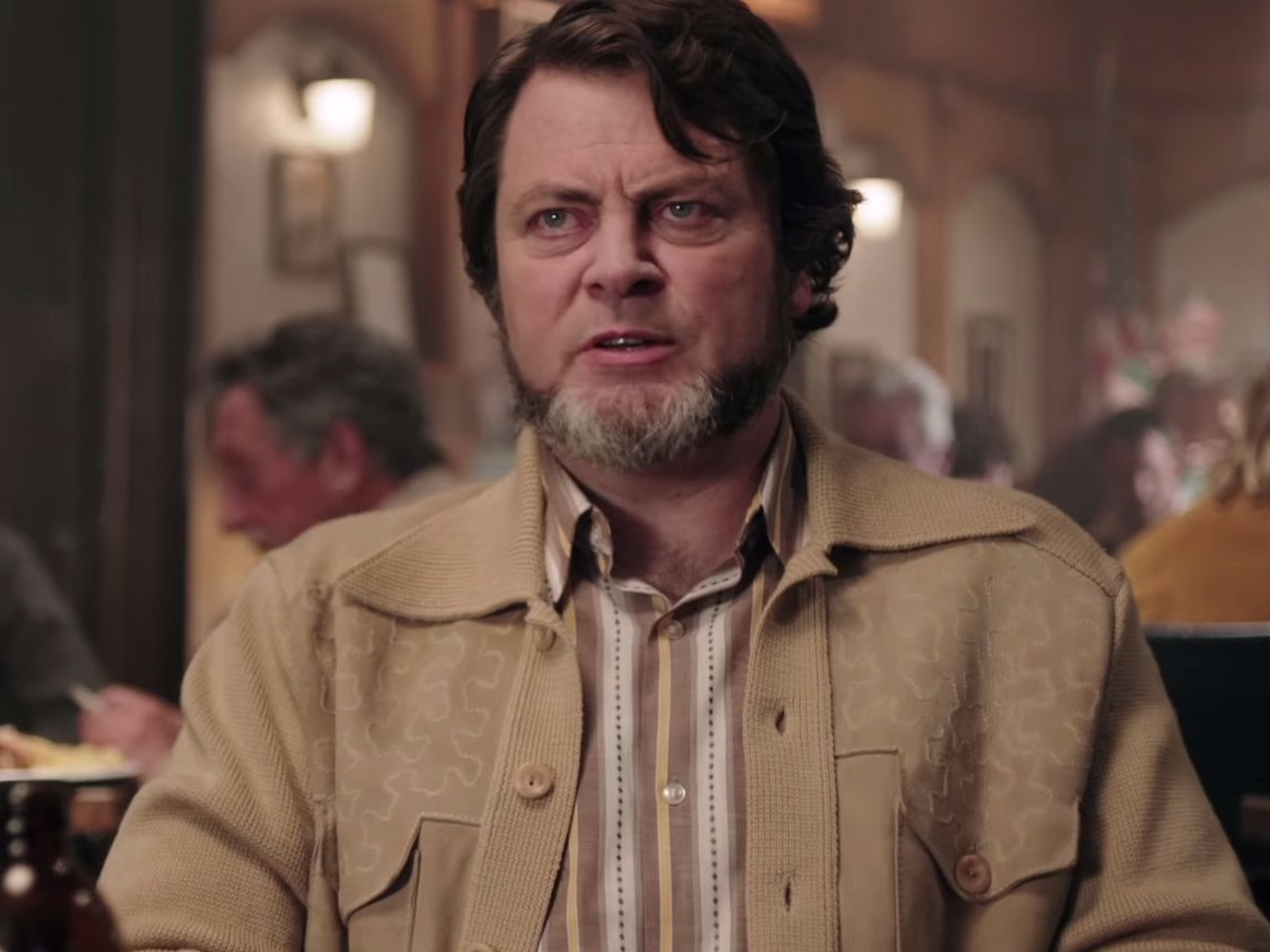 Nick Offerman as Karl Weathers