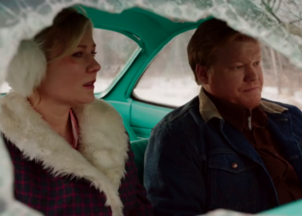 "Peggy and Ed Blomquist have to decide what to do with the murderer Peggy ran over with a car in this season's second episode of ""Fargo"" on FX."