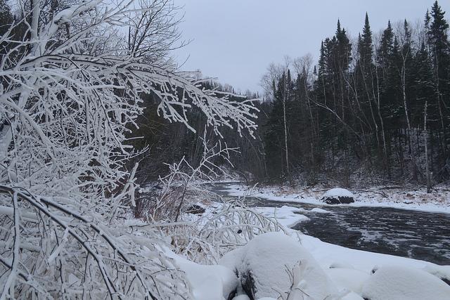 The Brule River at C.R. Magney State Park. (Flickr CC)