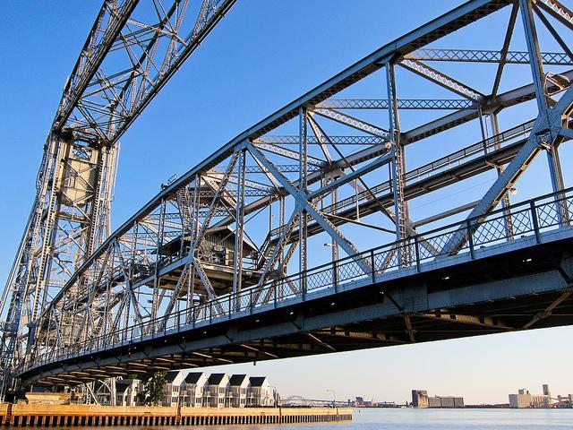 Duluth's Aerial Lift Bridge (PHOTO: Sharon Mollerus, Flickr CC)