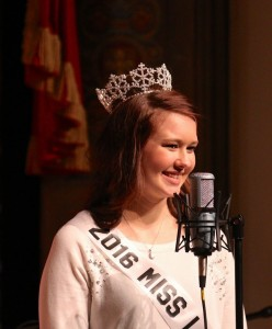 Laskiainen Queen 2016 Emily Baudek (PHOTO: Grant Frashier)