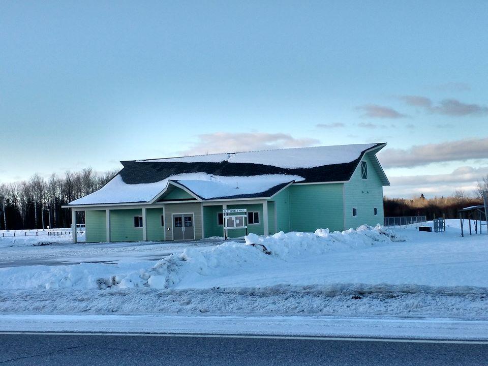 The new Cloverdale Hall (Nashwauk Township FB page)
