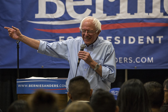 Bernie Sanders will campaign on Northern Minnesota's Iron Range with a special focus on trade issues and the region's struggling economy. PHOTO: Phil Roeder, Flickr CC