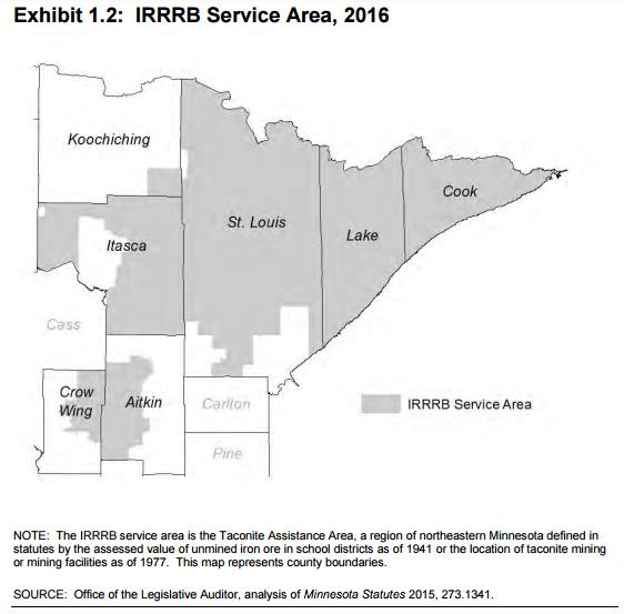 irrrb service area