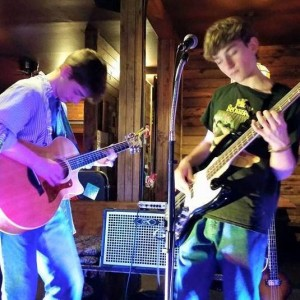 Jacob and Owen Mahon will perform as Hog Rooster in the April 9 Great Northern Radio Show in Pequot Lakes.