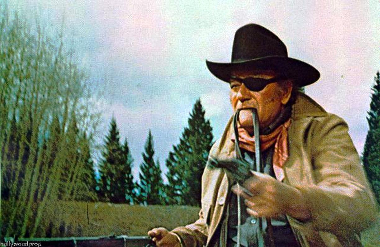 """John Wayne as Rooster Cogburn in """"True Grit"""" (1969)"""